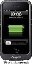 Energizer - Qi Inductive Charging Sleeve for Apple® iPhone® 3G/3GS - Black