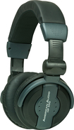 American Audio - Pro DJ Headphones - Black