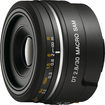 Sony - DT 30mm f/2.8 A-Mount Macro Lens - Black