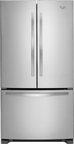 Whirlpool - 24.8 Cu. Ft. French Door Refrigerator - Stainless-Steel