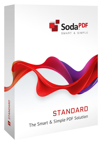 Soda PDF 5 Standard Software for PC Windows 8109881