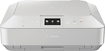 Canon - PIXMA MG7120 Network-Ready Wireless All-In-One Printer - White