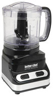 Better Chef - 3-Cup Chopper - Black