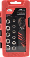 Skil - 22-Piece Dual-Sided Ratchet and Socket Set