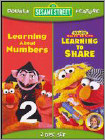 Sesame Street: Learning About Numbers/Learning to Share [2 Discs] (DVD)