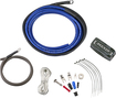 Kicker - P-Series Power Kit for Most Aftermarket Amplifiers - Blue/Gray