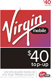 Limited Offer Virgin Mobile – $40 Top-up Card Before Special Offer Ends