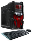 CybertronPC - Mechatron Desktop - AMD FX-Series - 16GB Memory - 1TB Hard Drive - Red