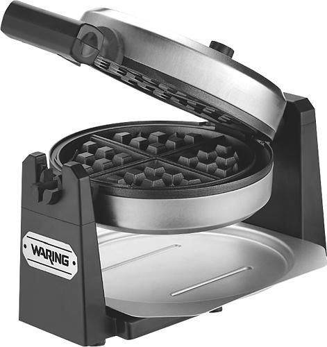 Waring Pro - Belgian Waffle Maker - Stainless-Steel