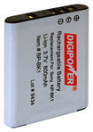 Digipower - Rechargeable Lithium-ion Battery For Select Sony Digital Cameras - Black
