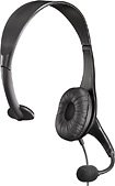 Rocketfish - Over-the-Head Analog Mono Headset