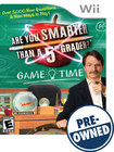 Are You Smarter Than a 5th Grader? Game Time — PRE-OWNED - Nintendo Wii