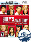 Grey's Anatomy: The Video Game — PRE-OWNED - Nintendo Wii