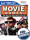 Family Fest Presents Movie Games — PRE-OWNED - Nintendo Wii