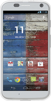 Rocketfish™ - Soft-Shell Case for Motorola Moto X Cell Phones - Clear