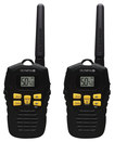 Olympia - 37-Mile, 50-Channel FRS/GMRS 2-Way Radios (Pair) - Black/Yellow