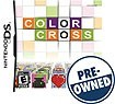 Click here for Color Cross - Pre-owned - Nintendo Ds prices