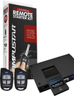 CompuStar - Remote Start Kit for Most Vehicles - Black/Red