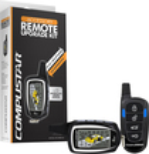 CompuStar - 2-Way LCD Confirmation Remote Kit for Most CompuStar RSG6 Series Remote Start Systems - Black/Orange