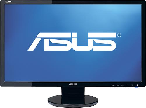 "Asus - 21.5"" Widescreen Flat-Panel LED-LCD HD Monitor - Black"
