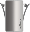 myCharge - Hub 3000 Rechargeable Power Bank - Silver