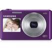 Samsung - 16.2 Megapixel Compact Camera - Plum