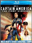 Captain America: The First Avenger (Blu-ray Disc) (2 Disc) (Enhanced Widescreen for 16x9 TV) (Eng/Fre/Spa) 2011