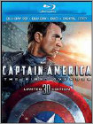 Captain America: The First Avenger (Blu-ray 3D) (3-D) (3D) (Eng/Fre/Spa/Por) 2011
