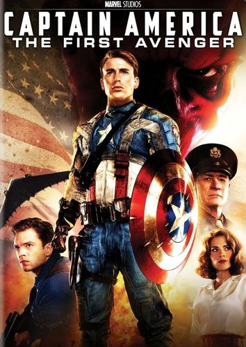 Captain America The First Avenger DVD EnglishFrenchSpanish