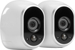 NETGEAR - Arlo Smart Home Indoor/Outdoor Wireless High-Definition IP Security Cameras (2-Pack) - White/Black