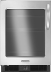 KitchenAid - 5.6 Cu. Ft. Frost-Free Compact Refrigerator - Stainless-Steel