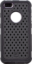 Platinum - Case for Apple® iPhone® 5 and 5s - Black