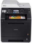 Brother - MFC-9460CDN Color Laser All-In-One Printer - Black