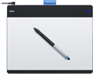 Wacom - Intuos Creative Pen and Medium Touch Tablet - Silver/Black