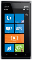 Nokia - Lumia 900 Cell Phone (Unlocked) - Black