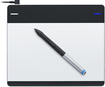 Wacom - Intuos Creative Pen Tablet Small - Silver/Black