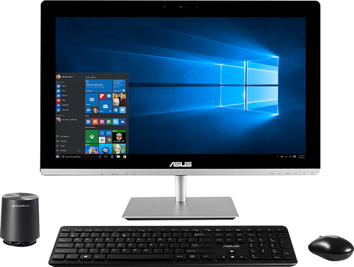 "Asus - 23"" Touch-Screen All-In-One Computer - Intel Core i3 - 8GB Memory - 1TB Hard Drive - Black"