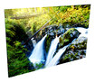 Acoustic Geometry - Sol Du Lac Waterfall Acoustic Wall Art - Multi