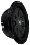 """Kicker - CompRT 10"""" Dual-Voice-Coil 1-Ohm Subwoofer"""