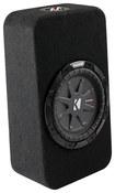"Kicker - CompRT 8"" Dual-Voice-Coil 2-Ohm Loaded Subwoofer Enclosure"