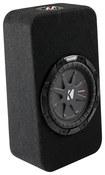 "Kicker - CompRT 8"" Dual-Voice-Coil 4-Ohm Loaded Subwoofer Enclosure"