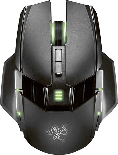 Razer - Ouroboros Elite Wireless Gaming Mouse - Black