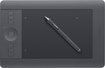 Wacom - Intuos Professional Pen and Small Touch Tablet - Black