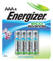 Energizer - EcoAdvanced AAA Batteries (4-Pack) - Multi