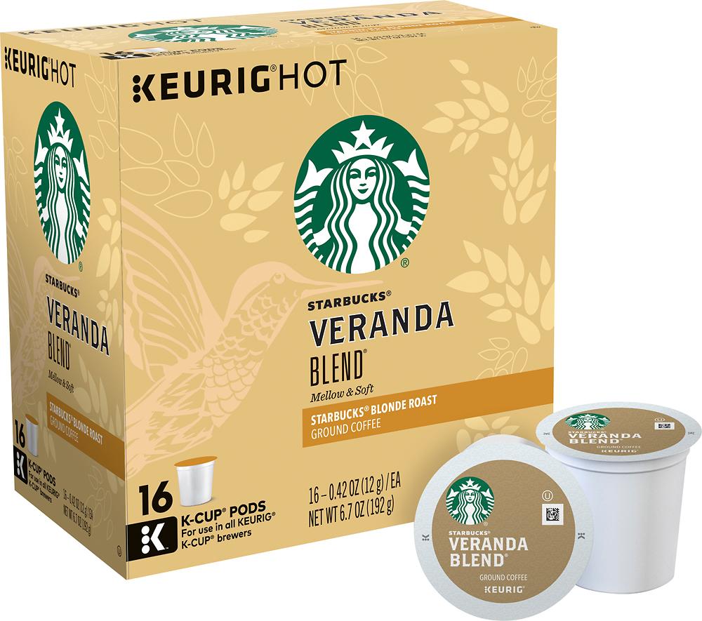 Keurig - Starbucks Veranda K-Cups (16-Pack) - Multi