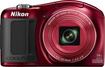 Nikon - Coolpix L620 18.1-megapixel Digital Camera - Red