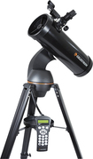 Celestron - NexStar 114GT 500mm Computerized Newtonian Telescope - Black
