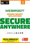 Webroot SecureAnywhere Internet Security (3-Device) (1-Year Subscription) - Mac/Windows