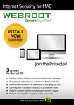 Webroot Internet Security for Mac (3-Device) (1-Year Subscription) - Mac