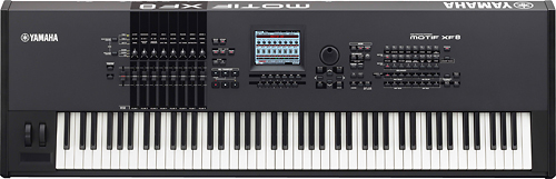 Yamaha - XF Series Digital Music Production Synthesizer - Black